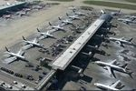 A bird's eye view of Stansted in Covid-19 times