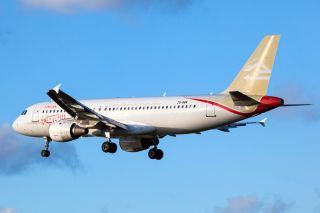Libyan Airlines Airbus A320