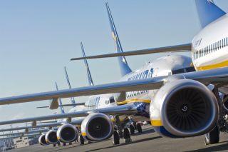 Ryanair Boeing 737NG Line-up