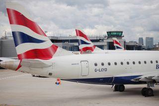 BA CityFlyer Embraer E190 in London City