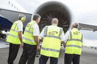 British Airways ground crew