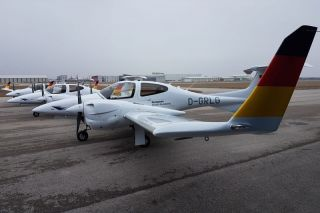 Lufthansa Aviation Training Diamond DA-42