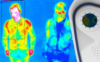 Thermal scanning at Heathrow Airport