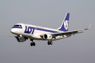 LOT Polish Airlines E175