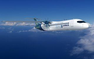 Airbus ZeroE Turboprop-Konfiguration