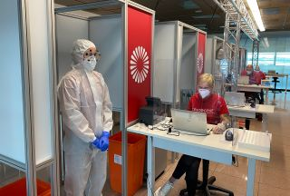 Lufthansa starts first trial run for Covid-19 antigen rapid tests
