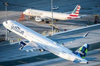 JetBlue Airways, American Airlines