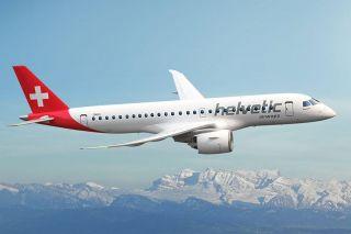 Helvetic Embraer E190-E2