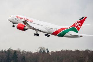 Kenya Airways Boeing 787-8