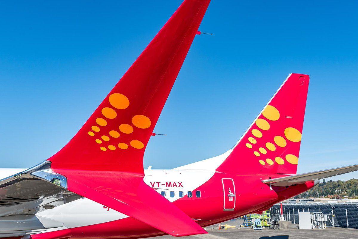 Resultado de imagen para Boeing 737 MAX Spicejet